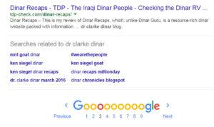 Dr Clarke Dinar